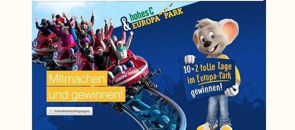 hohesC Gewinnspiel 10 mal Europa Park Familienabenteuer