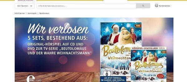 real Gewinnspiele Beutolomäus DVD und Hörspiel