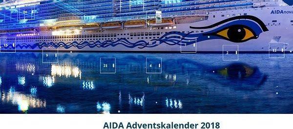 AIDA Adventskalender Gewinnspiel 2018 Kreuzfahrten gewinnen