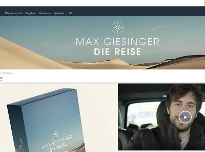 Amazon Gewinnspiel Max Giesinger London Reisen gewinnen