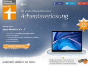 Apple MacBook Air Gewinnspiel Test.de Adventskalender