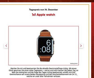 Apple Watch Gewinnspiel Netto Marken Discount Adventskalender