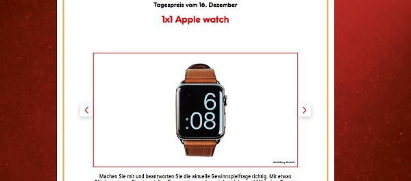 Apple Watch Gewinnspiel Netto Marken Discount Adventskalender