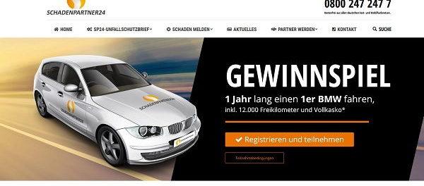 Auto-Gewinnspiel 1er BMW 1 Jahr kostenlos fahren