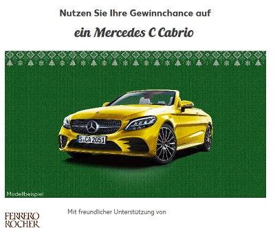 Auto-Gewinnspiel Kaufland Mercedes C Cabrio Adventskalender 2018