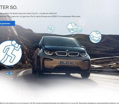 Auto Gewinnspiele BMW i3 für 6 Monate kostenlos
