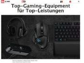 Bild.de Gewinnspiel Logitech Gamer Set gewinnen