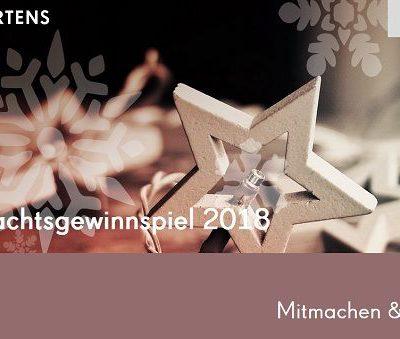 Carl Mertens Weihnachts-Gewinnspiel 2018