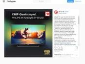Chip.de Gewinnspiel Philips 4k 50 Zoll Fernseher