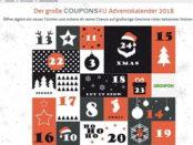 Coupons4u Adventskalender Gewinnspiel 2018