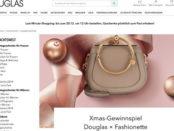 Douglas XMAS Gewinnspiel Chloe Handtasche Wert 1.349 Euro