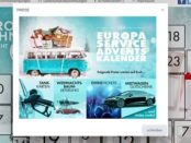 Europa Service Adventskalender Gewinnspiel 2018