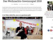 Frau am Grill Weihnachts-Gewinnspiel 2018