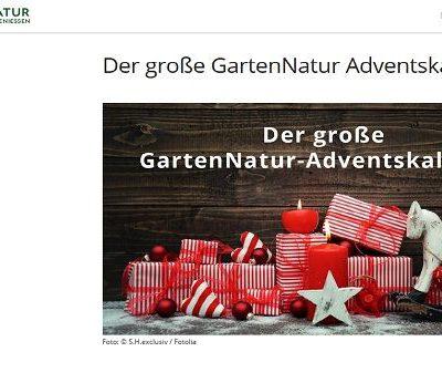 Gartennatur Adventskalender Gewinnspiel 2018