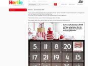 Hertie Adventskalender Gewinnspiel 2018