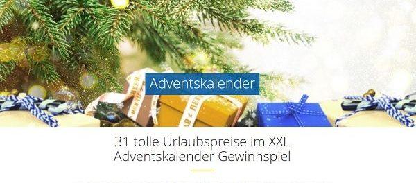 HolidayCheck Adventskalender Gewinnspiel 31 Reisen gewinnen