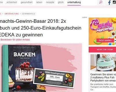 Idee für mich Gewinnspiel 250 Euro Edeka Gutscheine