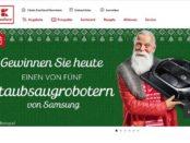 Kaufland Adventskalender Gewinnspiel 5 Samsung Saugroboter