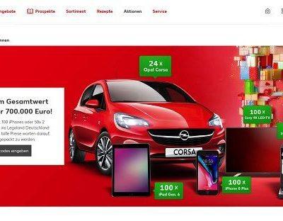 Kaufland Auto Gewinnspiel 24 Opel Corsa gewinnen