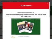 Kaufland Gewinnspiel New York Reise Adventskalender 2018