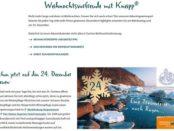 Kneipp Weihnachts-Gewinnspiel Rügen Reise