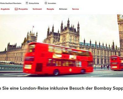 London Reise Gewinnspiel Kaufland