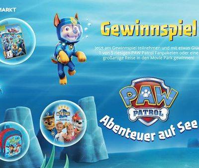 Mein Spielzeugmarkt Paw Patrol Gewinnspiel Reise Movie Park