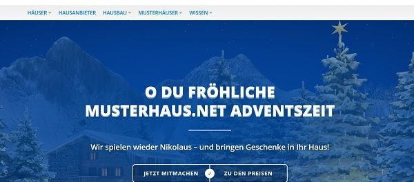 Musterhaus.net Adventszeit Gewinnspiel 2018