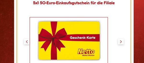 Netto Gewinnspiel Adventskalendertürchen 8 Gutscheine uvm.