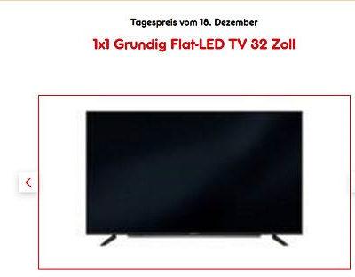 Netto Gewinnspiel Grundig Flat LED Fernseher