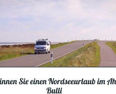 Nordsee Reise Gewinnspiel Campingbus Urlaub gewinnen