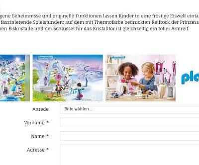 Playmobil Eispalast Gewinnspiel Kribbelbunt Adventskalender 2018