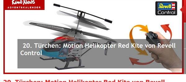 rc helikopter gewinnspiel kino news adventskalender. Black Bedroom Furniture Sets. Home Design Ideas