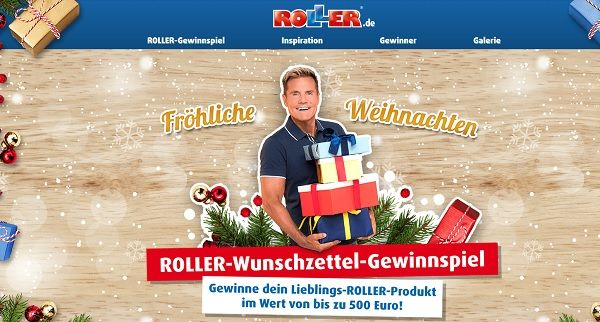 Gewinnspiel Roller