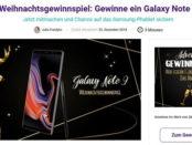 Samsung Galaxy Note 9 Smartphone Gewinnspiel handy.de