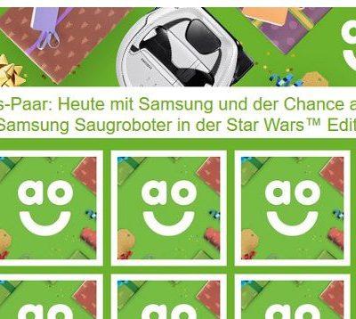 Samsung Saugroboter Gewinnspiel ao.de Adventskalender