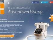 Stiftung Warentest Adventskalender Gewinnspiel Krups Prep und Cook Küchenmaschine