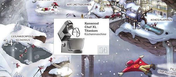 Stiftung Warentest Gewinnspiel Kenwood Chef XL Titanium Küchenmaschine