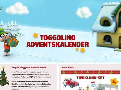 Toggolino Adventskalender Gewinnspiel täglich HABA Spielzeuge