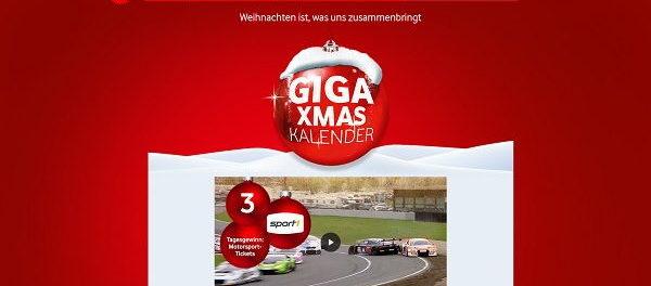 Vodafone Adventskalender Gewinnspiel 2018