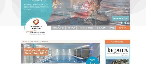 Wellnessfinder Gewinnspiel Österreich Wellnesswochenende