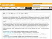 areamobile Gewinnspiel bestes Smartphone Wahl 2018