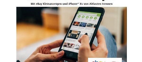 ebay kleinanzeigen und gewinnspiel apple iphone xs. Black Bedroom Furniture Sets. Home Design Ideas