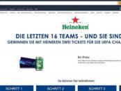 Amazon Gewinnspiel Heineken UEFA Champions League Tickets