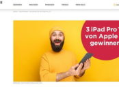 Apple iPad Pro Gewinnspiel Commerzbank Moneybaze