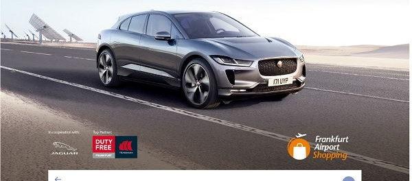Auto Gewinnspiel Frankfurt Airport Jaguar I-Pace