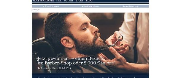 Babista Gewinnspiel Barber-Shop Besuch oder 2.000 Euro Bargeld gewinnen