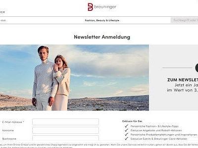 Breuninger Gewinnspiel 3.000 Euro Shopping-Guthaben