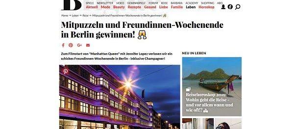 Brigitte Gewinnspiel Berlin Freundinnen Wochenendreise