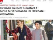 Bunte Gewinnspiele Manhatten Queen Hotelaufenthalt